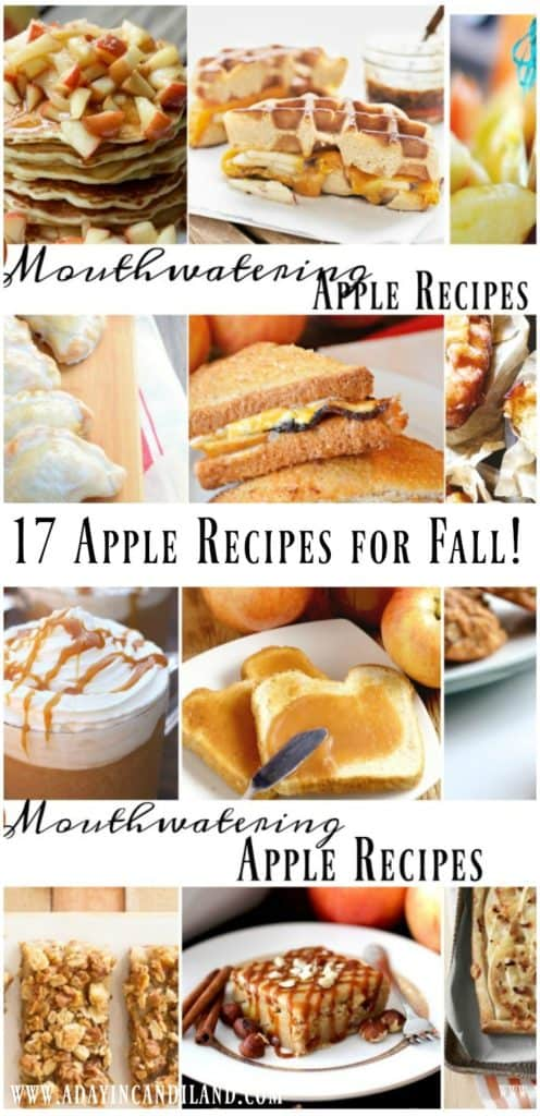 Mouthwatering apple recipes for fall main pinterest image