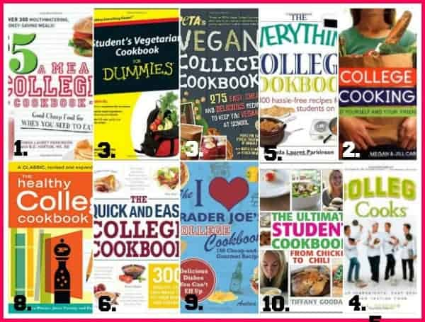 cookbooks for the new college student