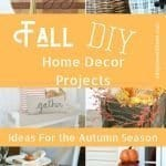 Fall projects for your home
