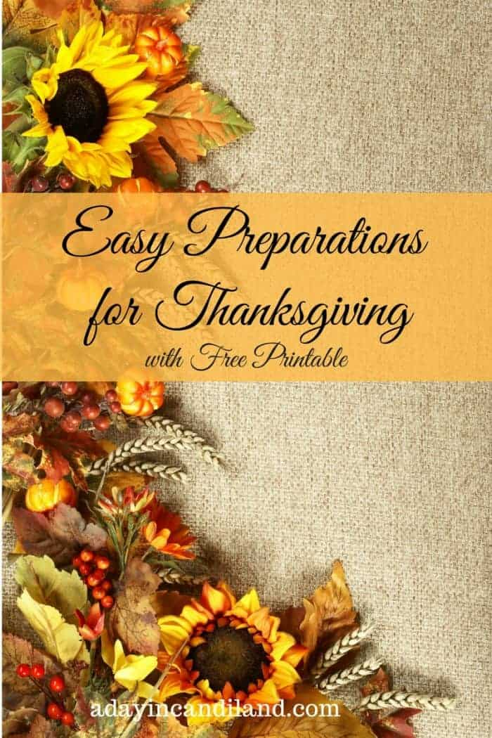 How to Create a Thanksgiving menu planner with a free printable menu and shopping list from #candiland