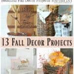 Beautiful DIY Fall Home Decor Projects