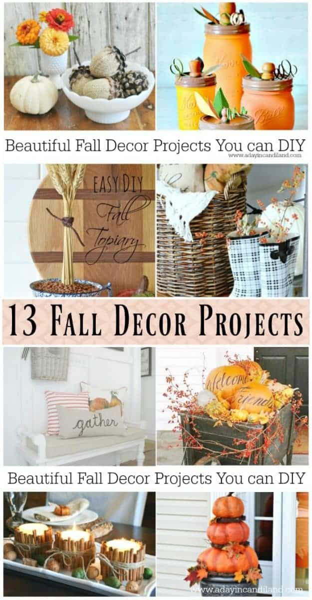 Fall Decor Projects you can make at home #candiland
