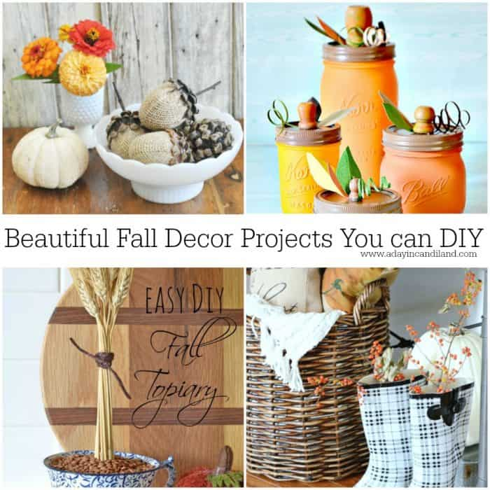 diy-fall-decor-projects for the home