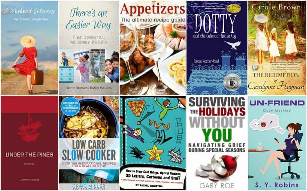 10 Free Kindle Books 11/21/16