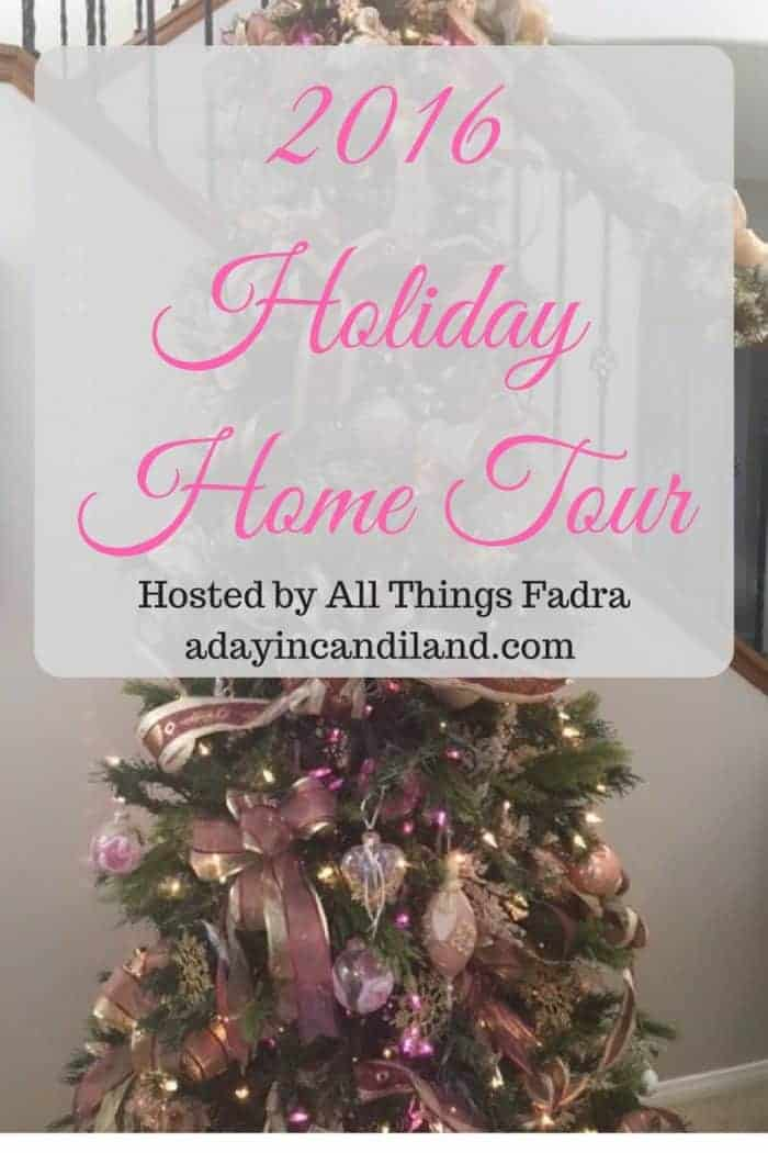 2016 Blogger Holiday Home Tour