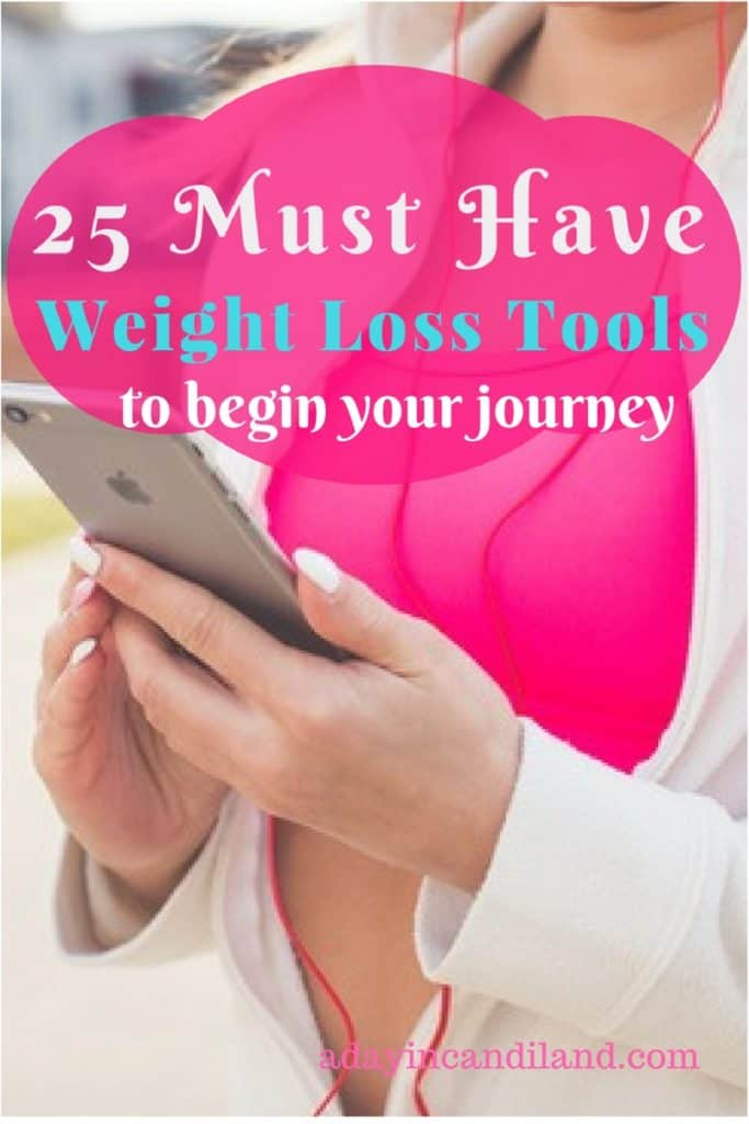25 weight loss tools to begin your journey with