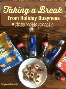 Taking a break from Holiday Busyness with Coca-Cola