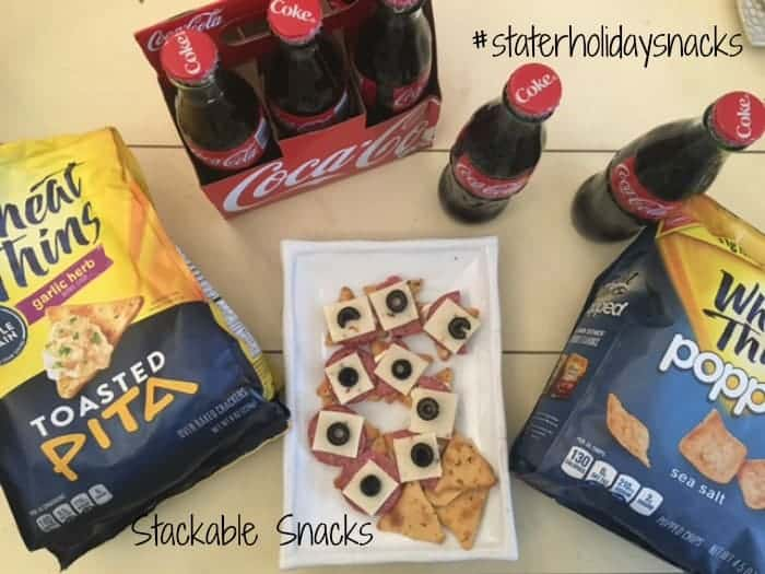 Stackable Snacks with #staterholidaysnacks