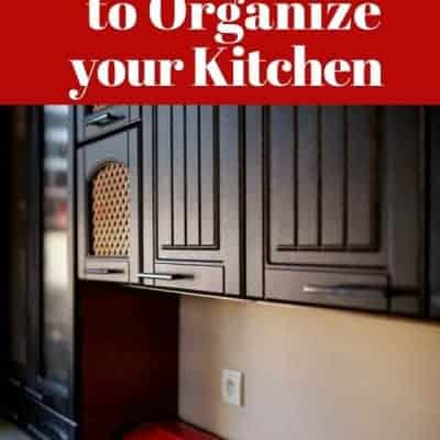 25 Tips and Tools to Organize Your Kitchen
