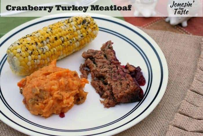 Cranberry Turkey Meatloaf Meal Plan 104