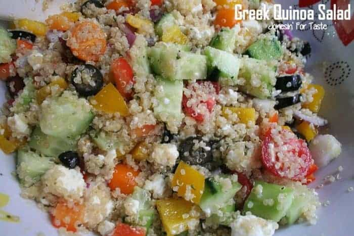Greek Quinoa Salad Meal Plan 104