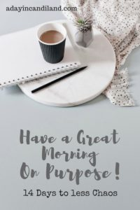How to Have a Great Morning on Purpose