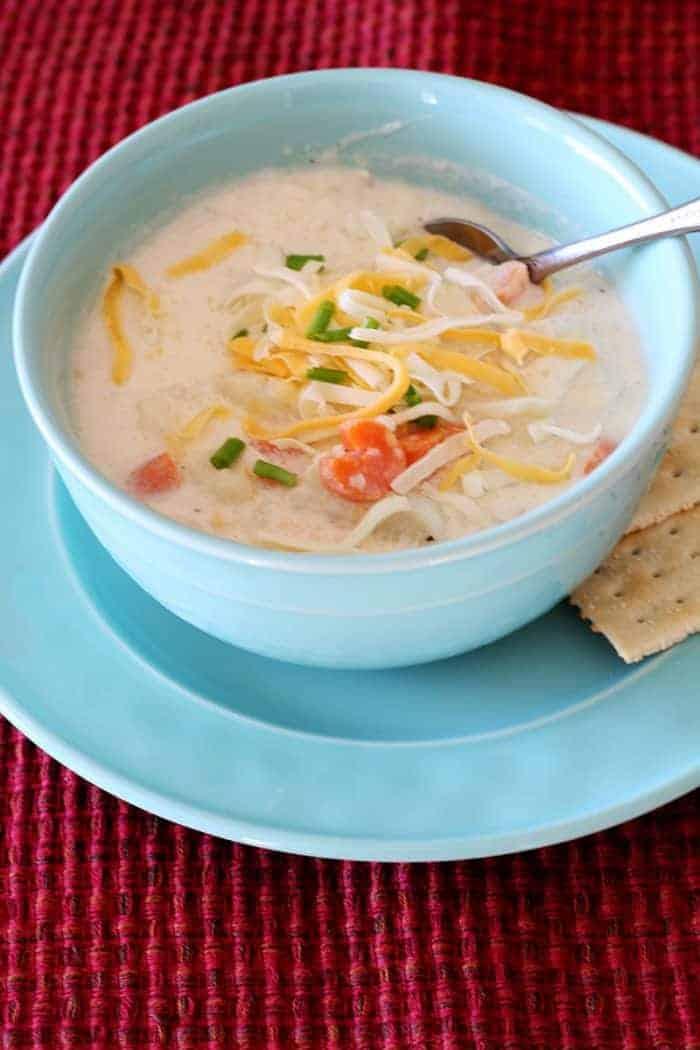 10 Minute Cauliflower Soup meal plan 107