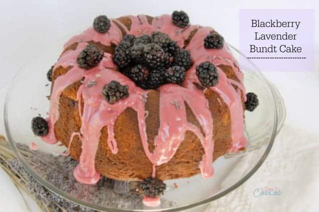 Blackberry Lavender Bundt Meal Plan 107