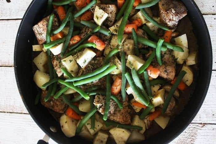 Chicken And Vegetable meal plan 108