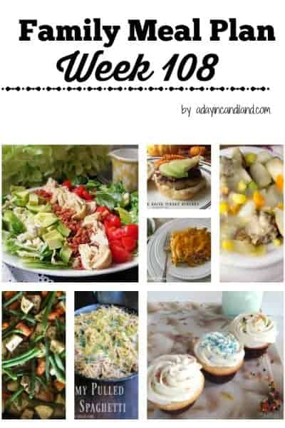 Easy Family Meal Plan 108