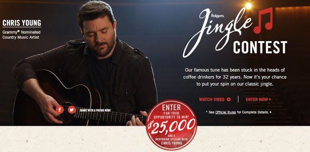 Folgers Jingle Contest 2017