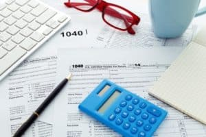 Preparing for Tax Day Image