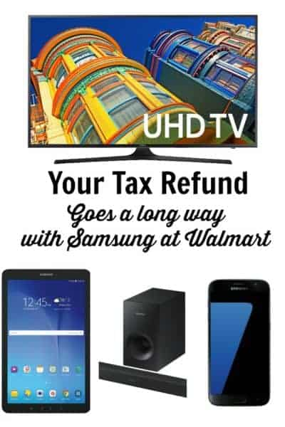 Make your tax refund go further with deals from Samsung at Walmart