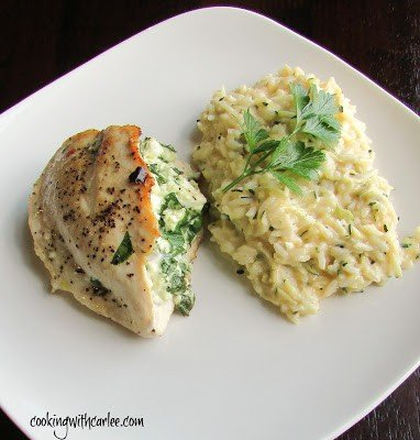 Stuffed Chicken Meal Plan 107