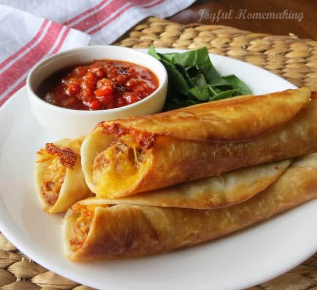 Bean Taquito Burrito meal plan 105