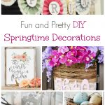 DIY Spring and Easter Crafts
