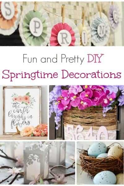 DIY Spring and Easter Crafts