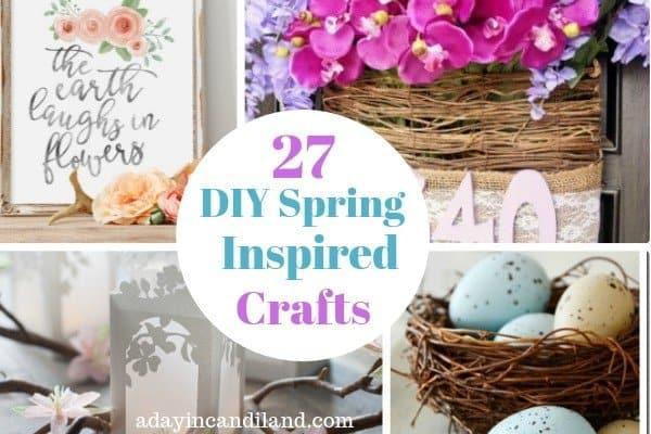 27 DIY Spring Inspired Crafts