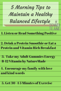 5 Ways to Maintain a Healthy Balanced Lifestyle