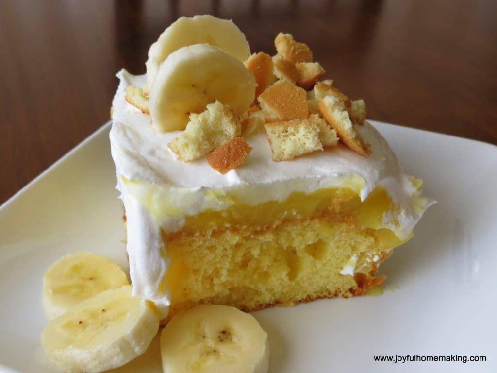 Banana Cake Meal Plan 111