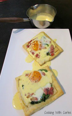Benedict Hollandaise meal plan 112