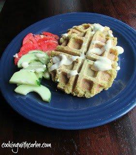 Falafel Waffle Plate meal plan 109