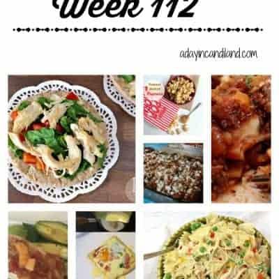 Easy Family Meal Plan 112