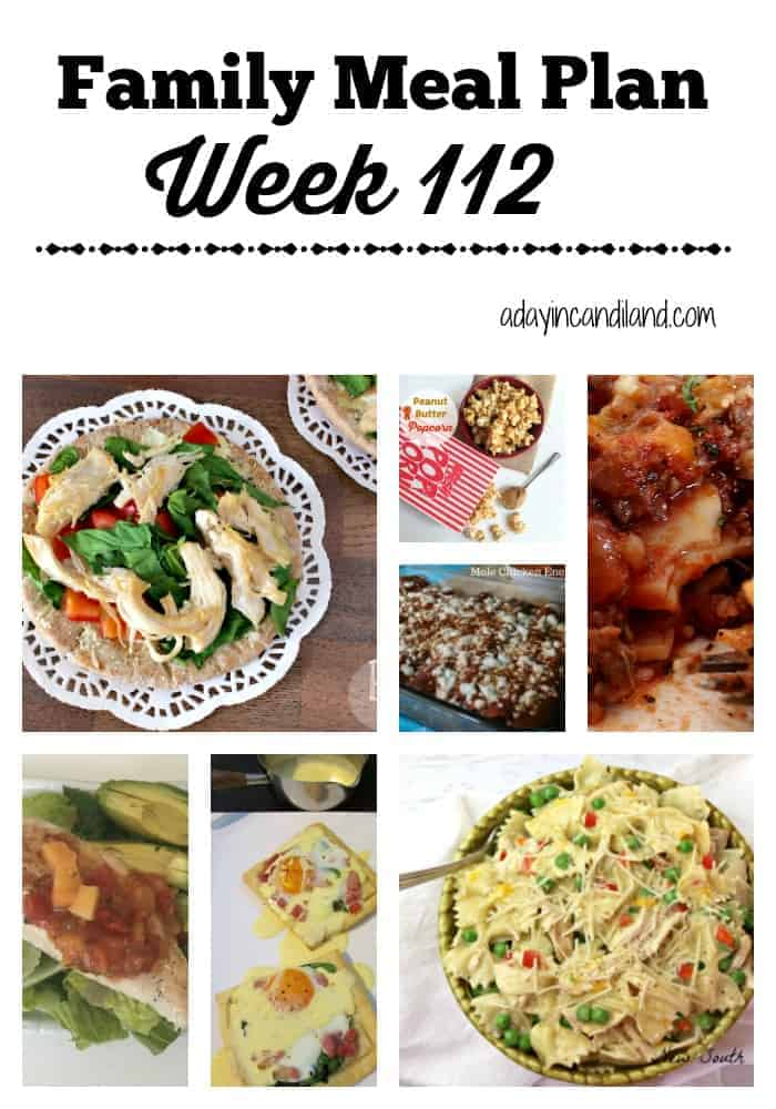 Family Meal Plan week 112