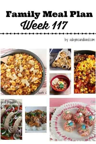 Easy Family Meal Plan 117