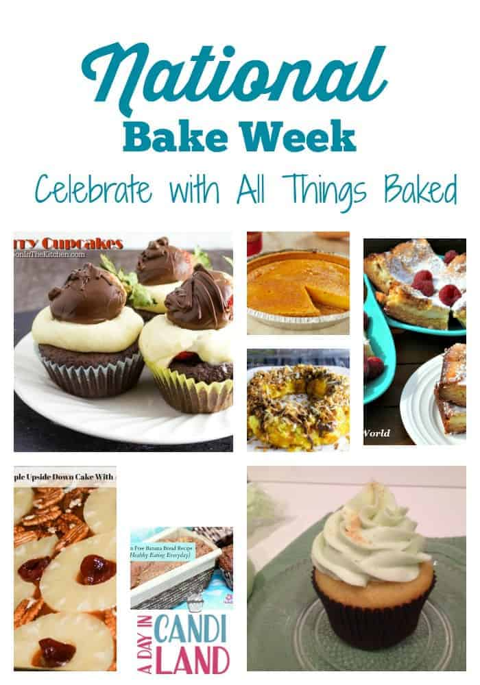 National Bake Week by A Day in Candiland