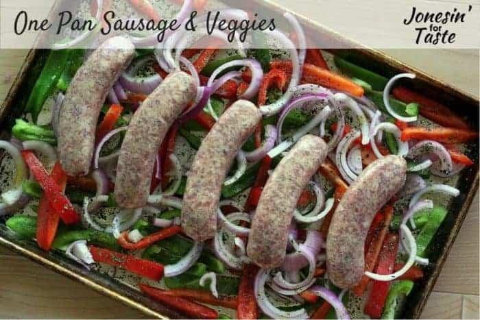 One-Pan-Sausage-Veggies-Meal Plan 117
