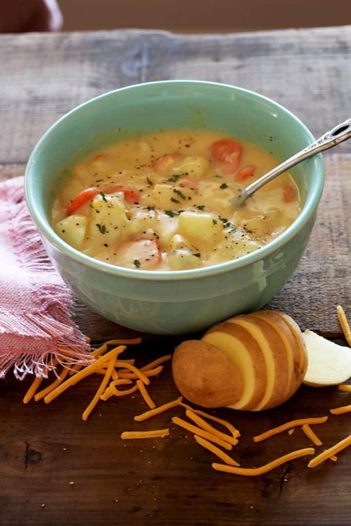 Potato Cheese Soup meal plan 114