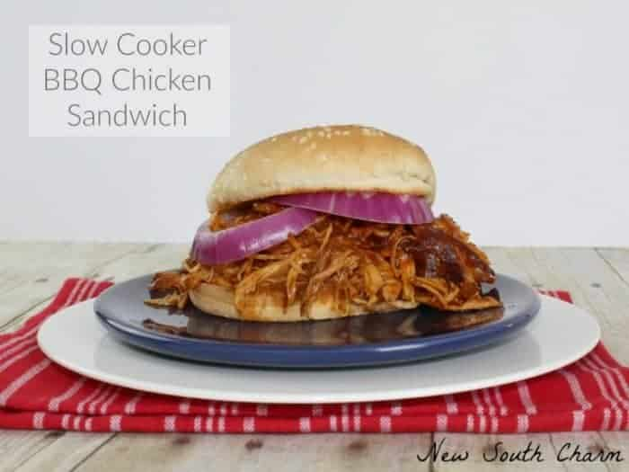Slow-Cooker-BBQ-Chicken-Sandwich-FB-768x576 meal plan 114