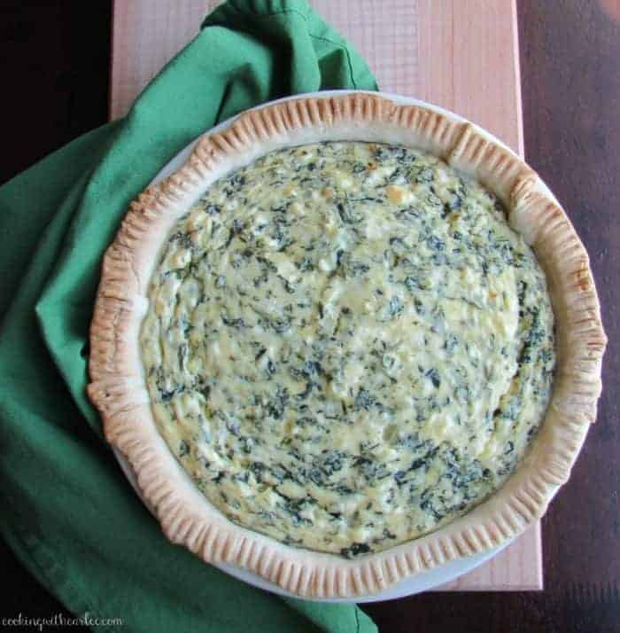Spinach Pie Whole meal plan 114
