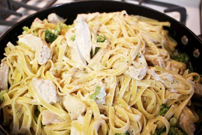 meal plan 116 chicken Fettuccine