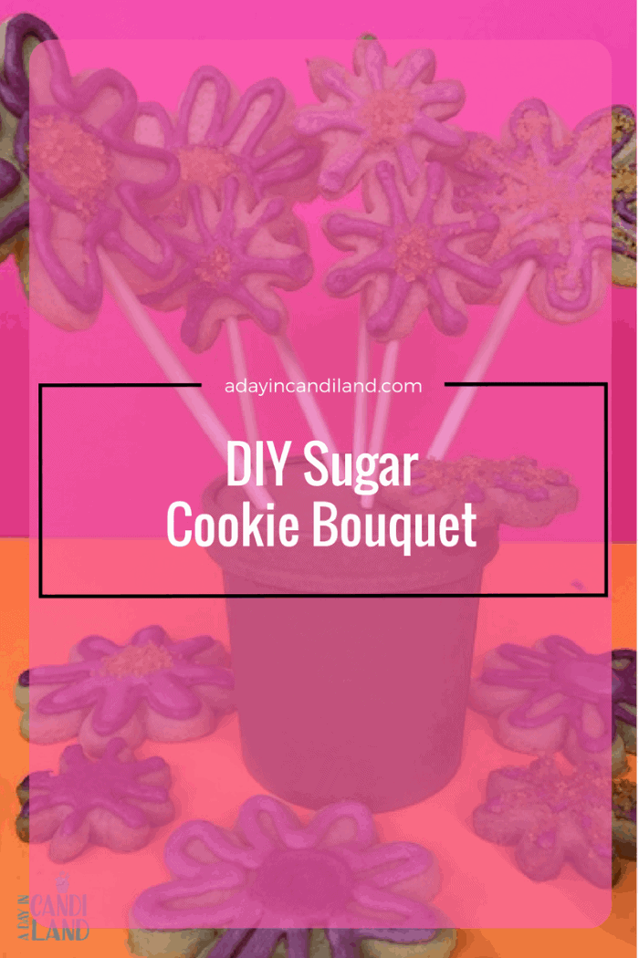 DIY Sugar Cookie Bouquet Hero
