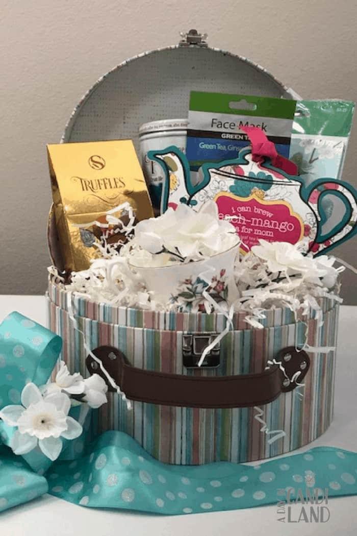 DIY Tea Gift Basket (1)