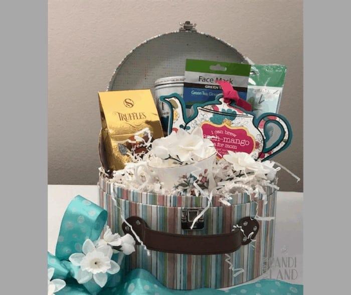 DIY Tea Gift Basket FB