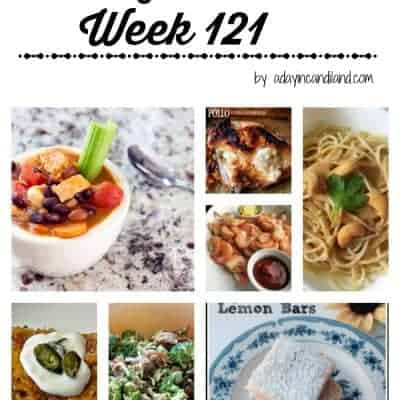 Easy Family Meal Plan 121