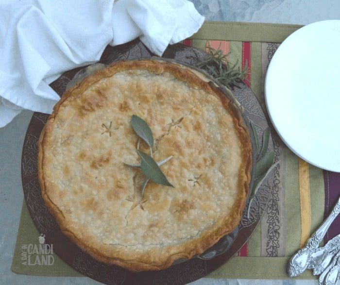 Quick and Easy Turkey Pot Pie Facebook #tryturkey