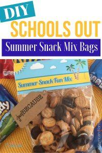 DIY Schools Out Summer Snack M