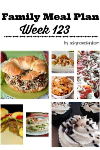 Easy Family Meal Plan 123