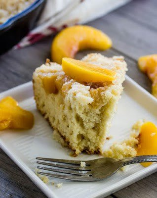Peach Breakfast Cake3 meal plan 125