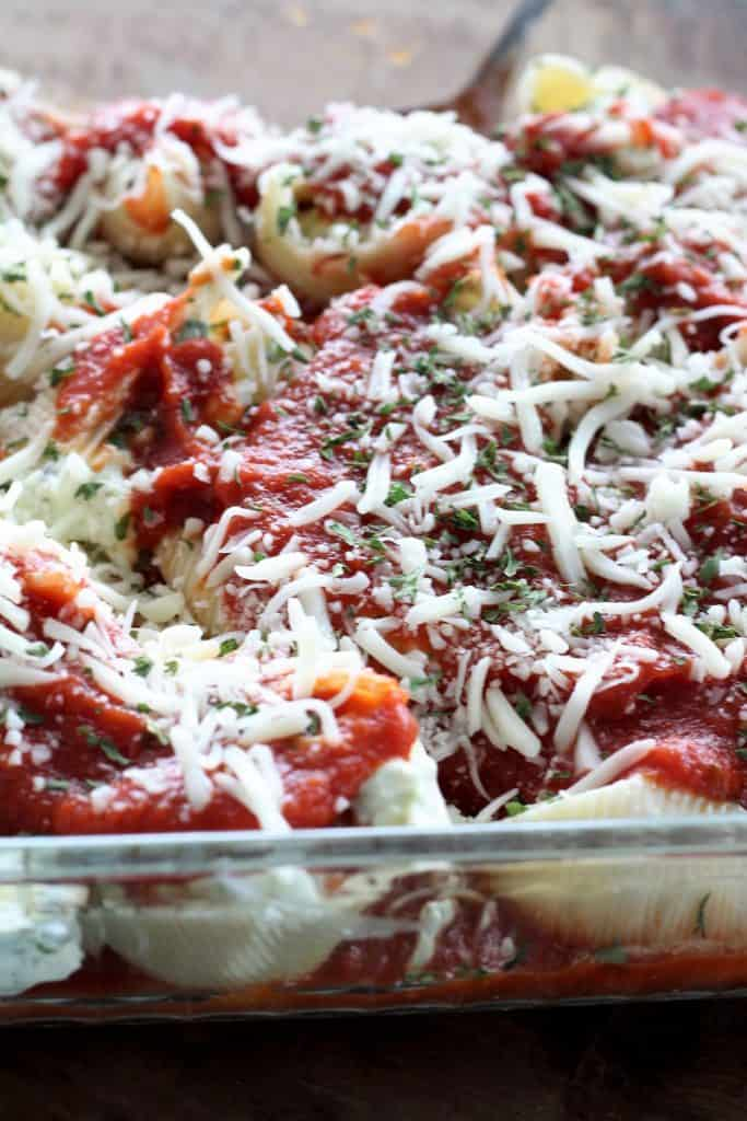 Spinach Stuffed Shells meal plan 123